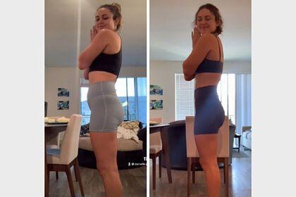Дівчина наочно показала своє перетворення після утримання від алкоголю