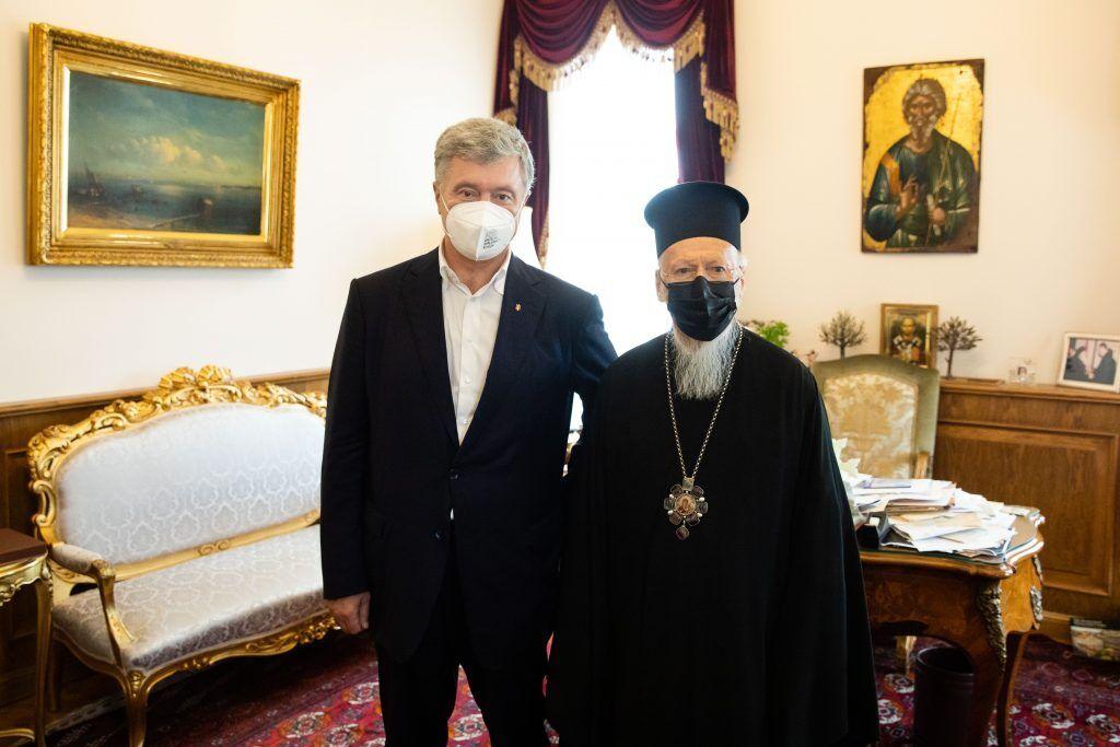 Порошенко провів зустріч із Вселенським Патріархом Варфоломієм