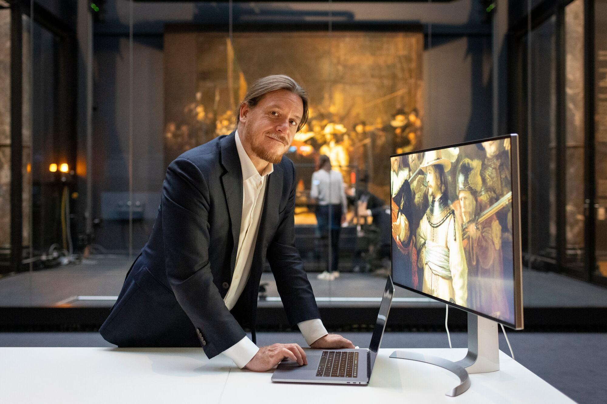 Роберт Ердман відновив втрачені фрагменти картини