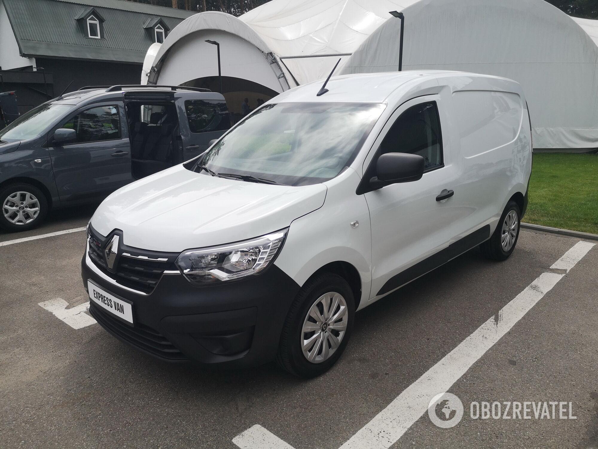 В Украине презентовали новинки коммерческого ряда Renault