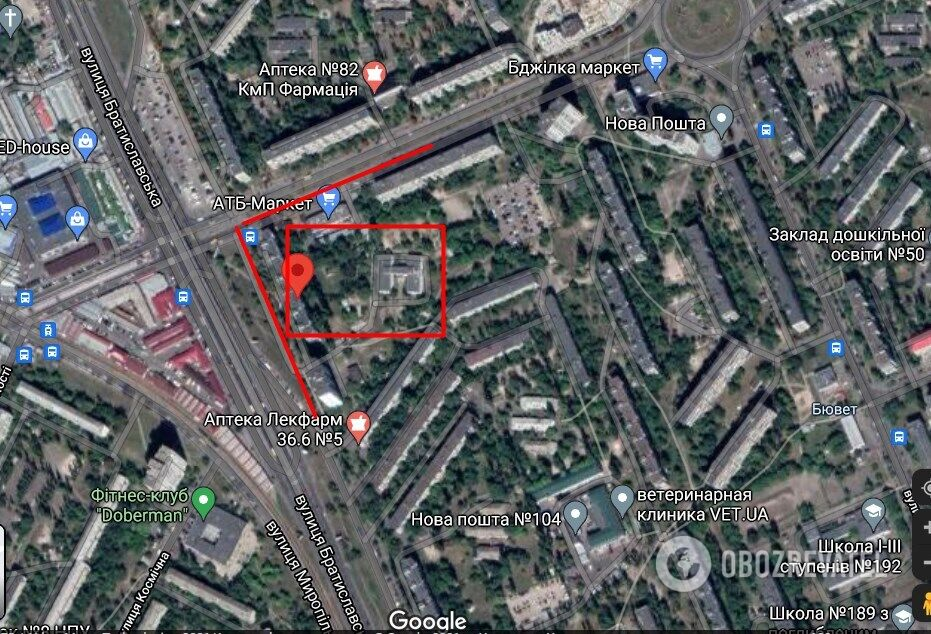 Нападение произошло в Деснянском районе на ул. Братиславской