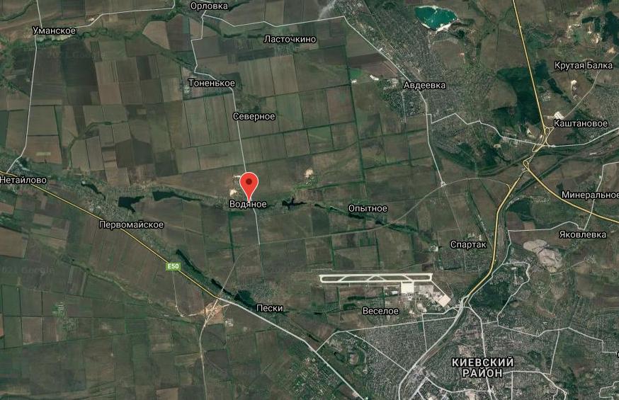 Водяное в Донецкой области обстреляли из гранатометов