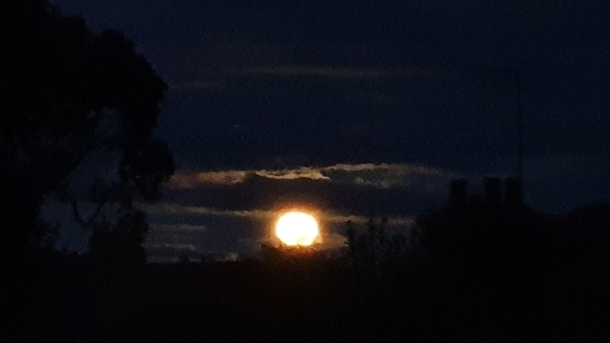 Полуничний місяць