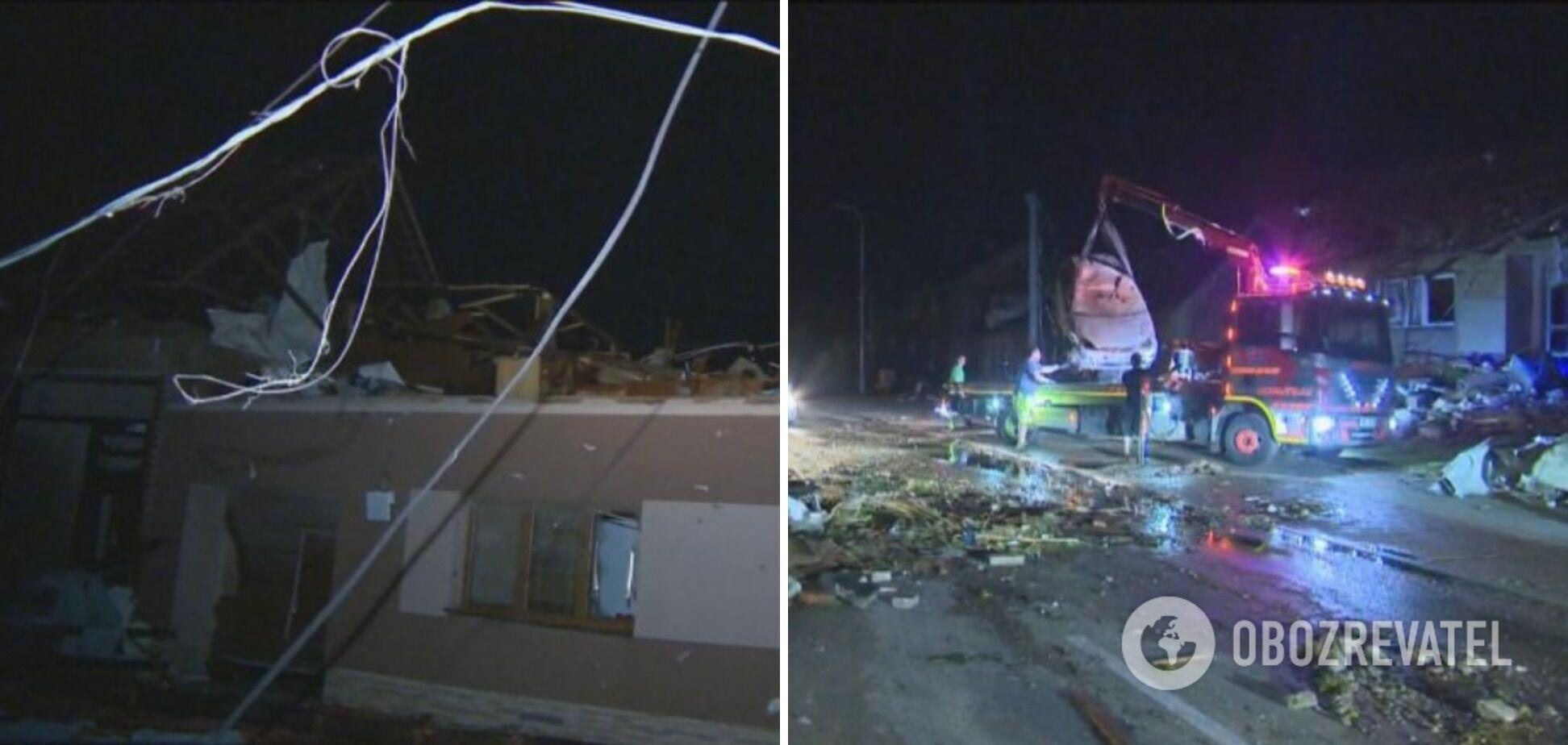 Непогода разрушила сотни домов