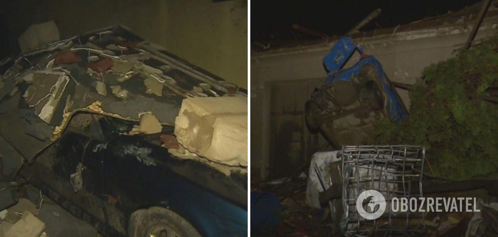Последствия урагана в Чехии