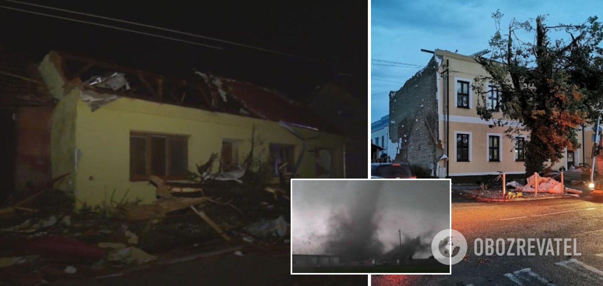 Сильный ураган пронесся Чехией