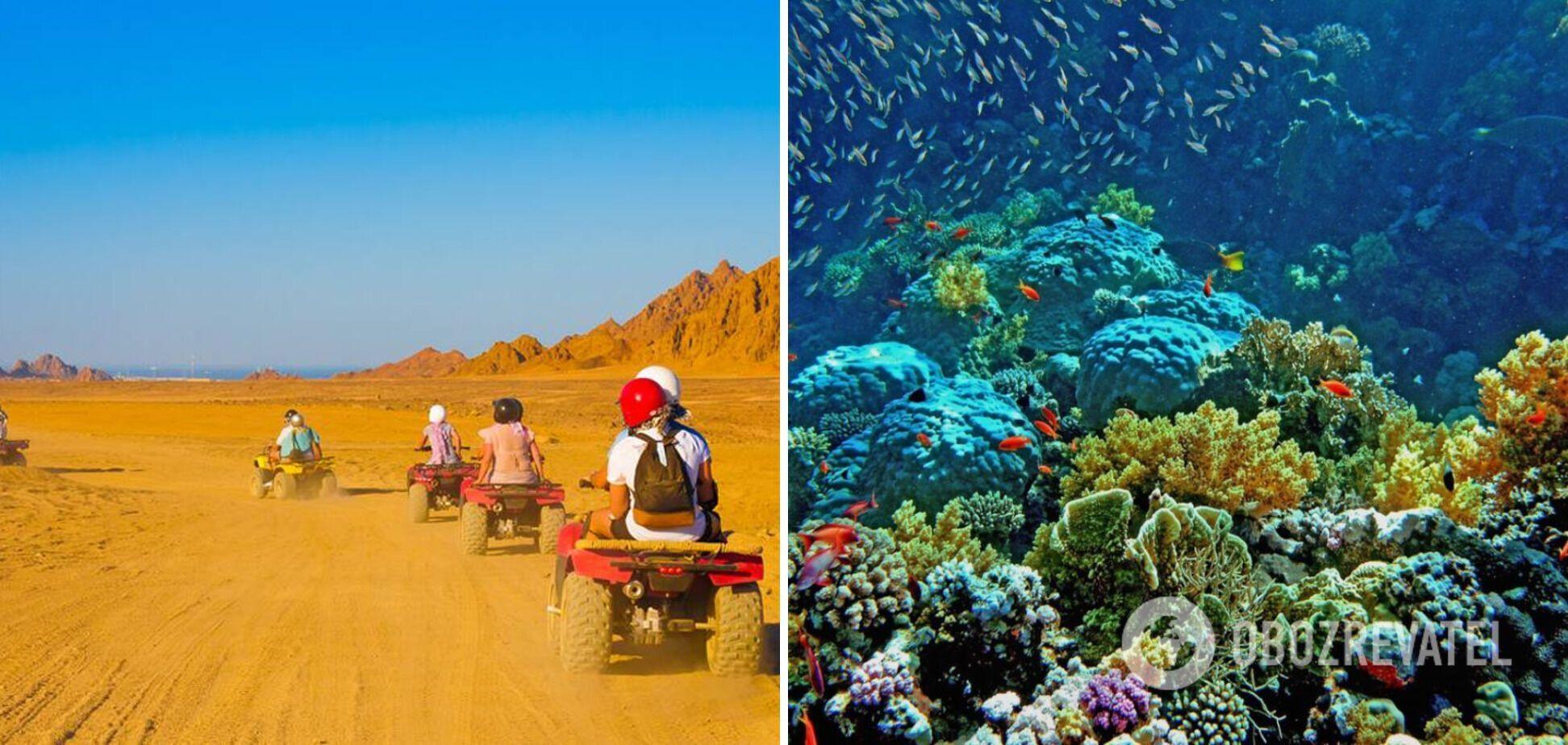 В Египте есть множество развлечений для туристов.