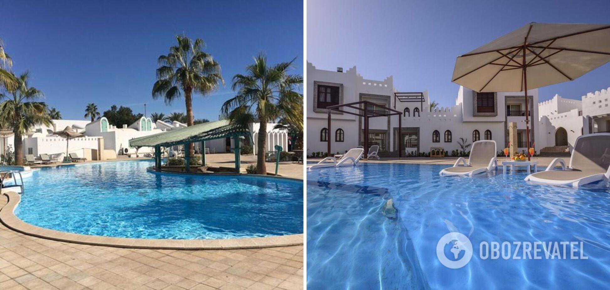 Трехзвездочный бюджетный отель в Египте.