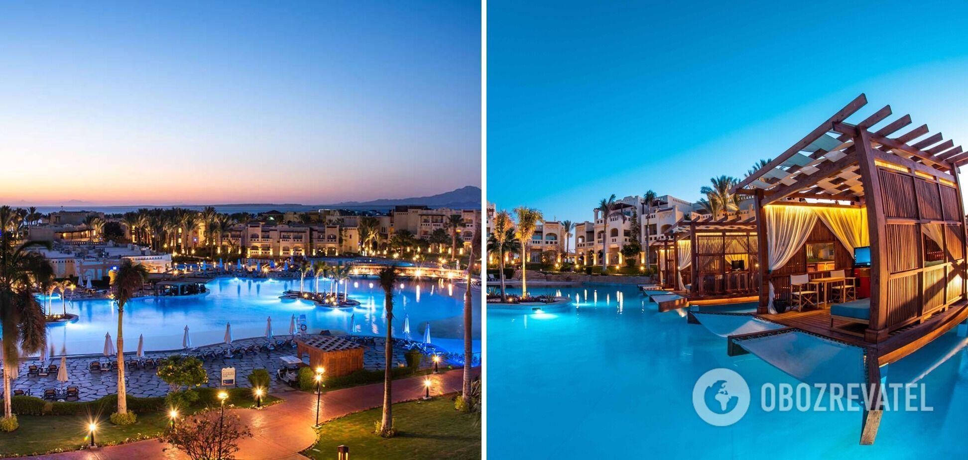 Роскошный отель премиум-класса в Египте.
