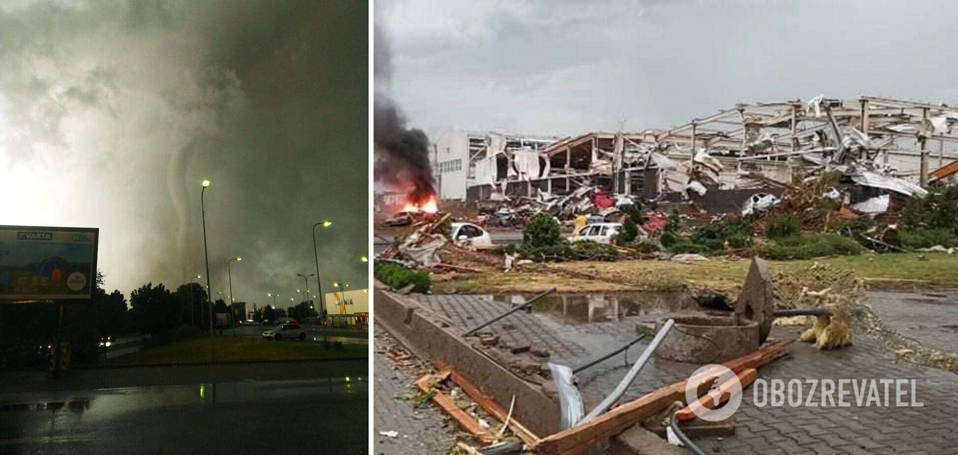 Торнадо и его последствия в Чехии