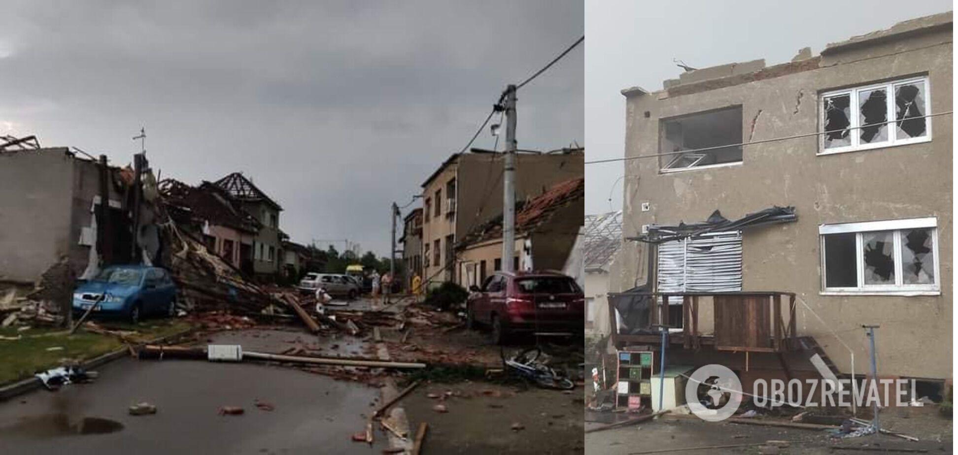 В Южной Моравии 32 тыс. потребителей остались без электричества