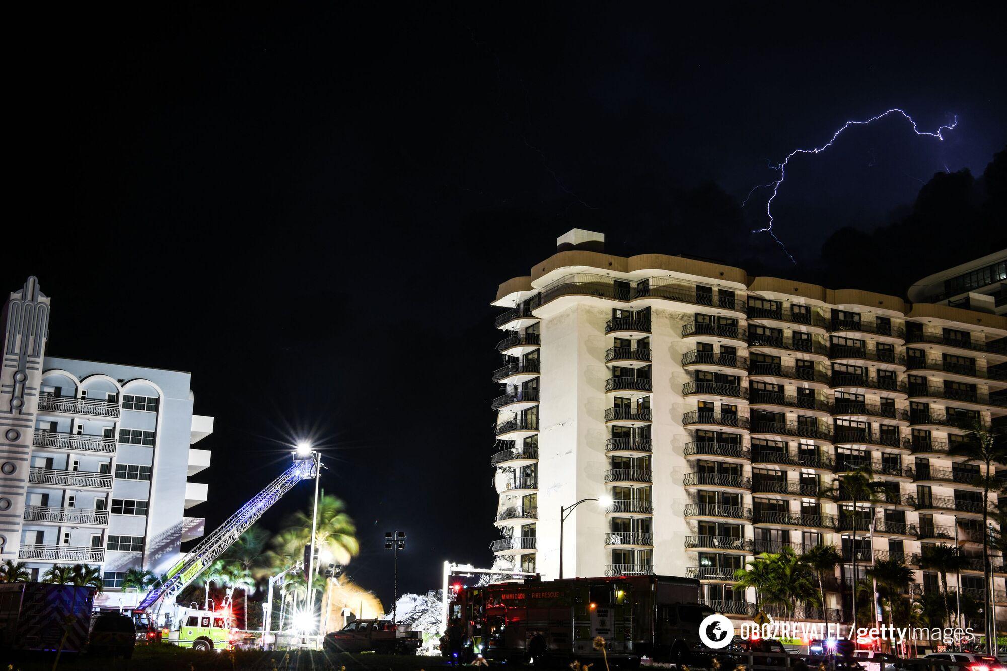Обвалення будинку біля Маямі
