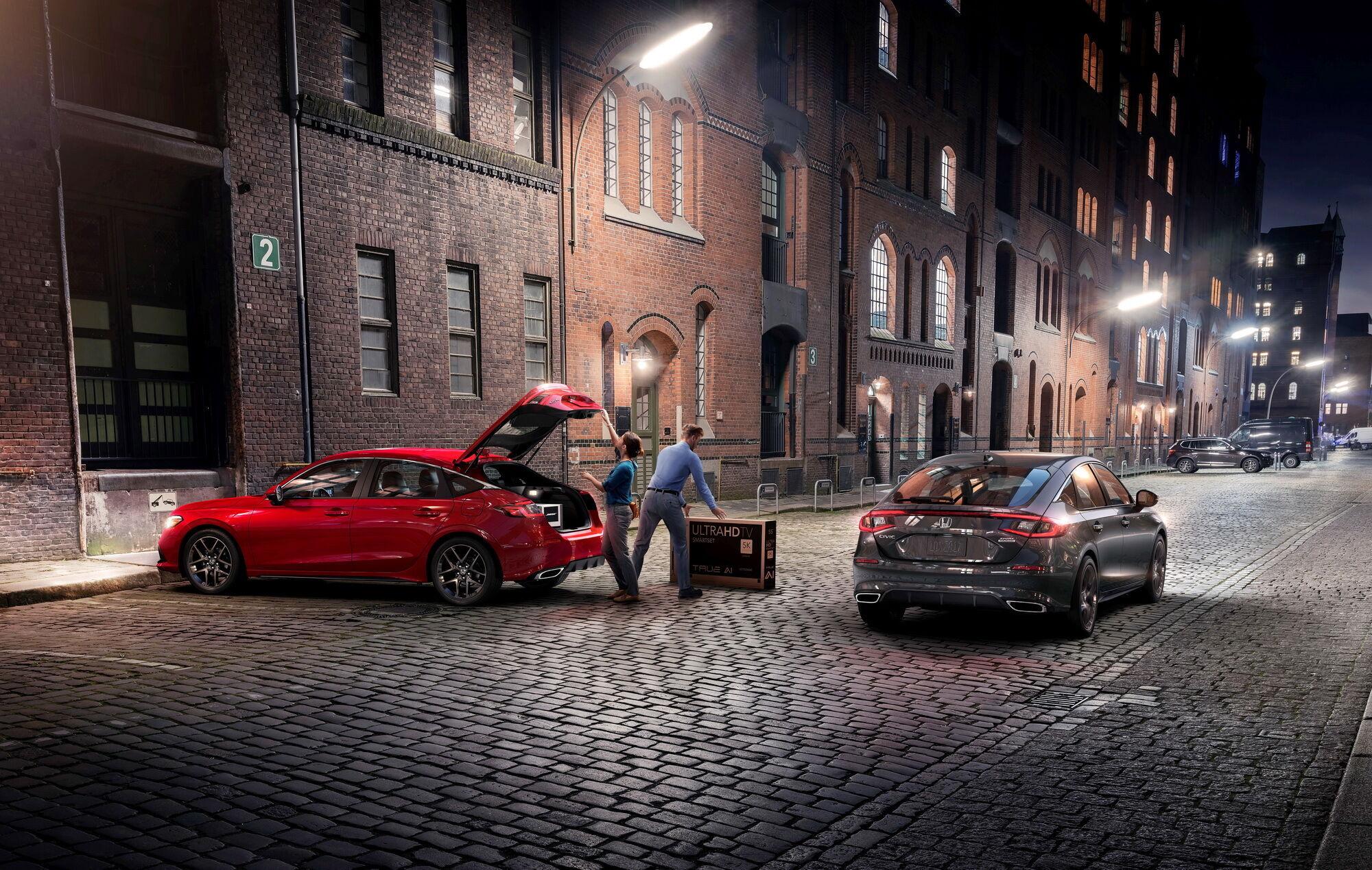 В Європі 2-літрової модифікації не буде, але зате очікується гібридна версія Civic e: HEV з бензогенератором та тяговим електродвигуном