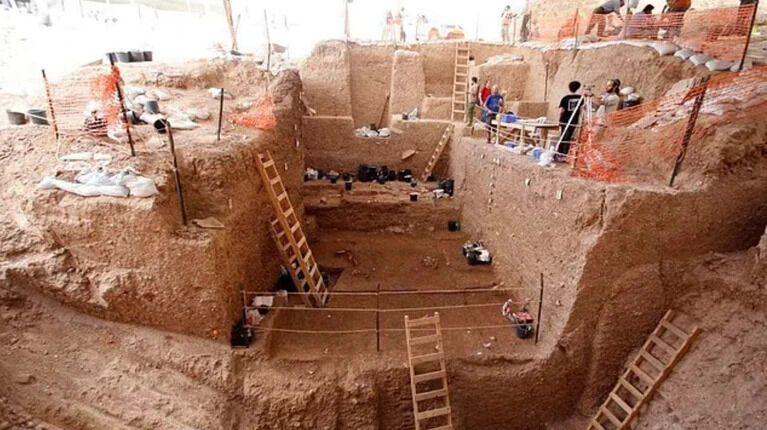 Місце розкопок
