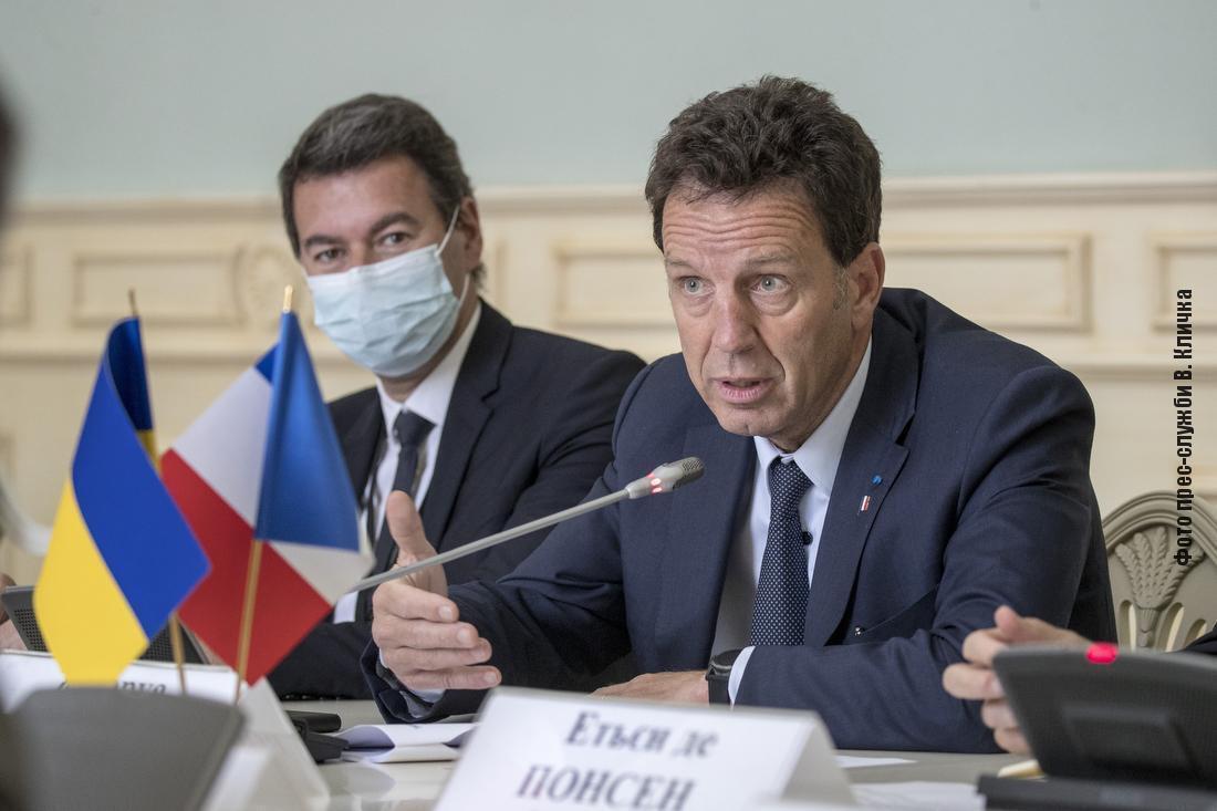 Представники французького бізнесу висловили зацікавленість в участі своїх компаній в розробці проєктів