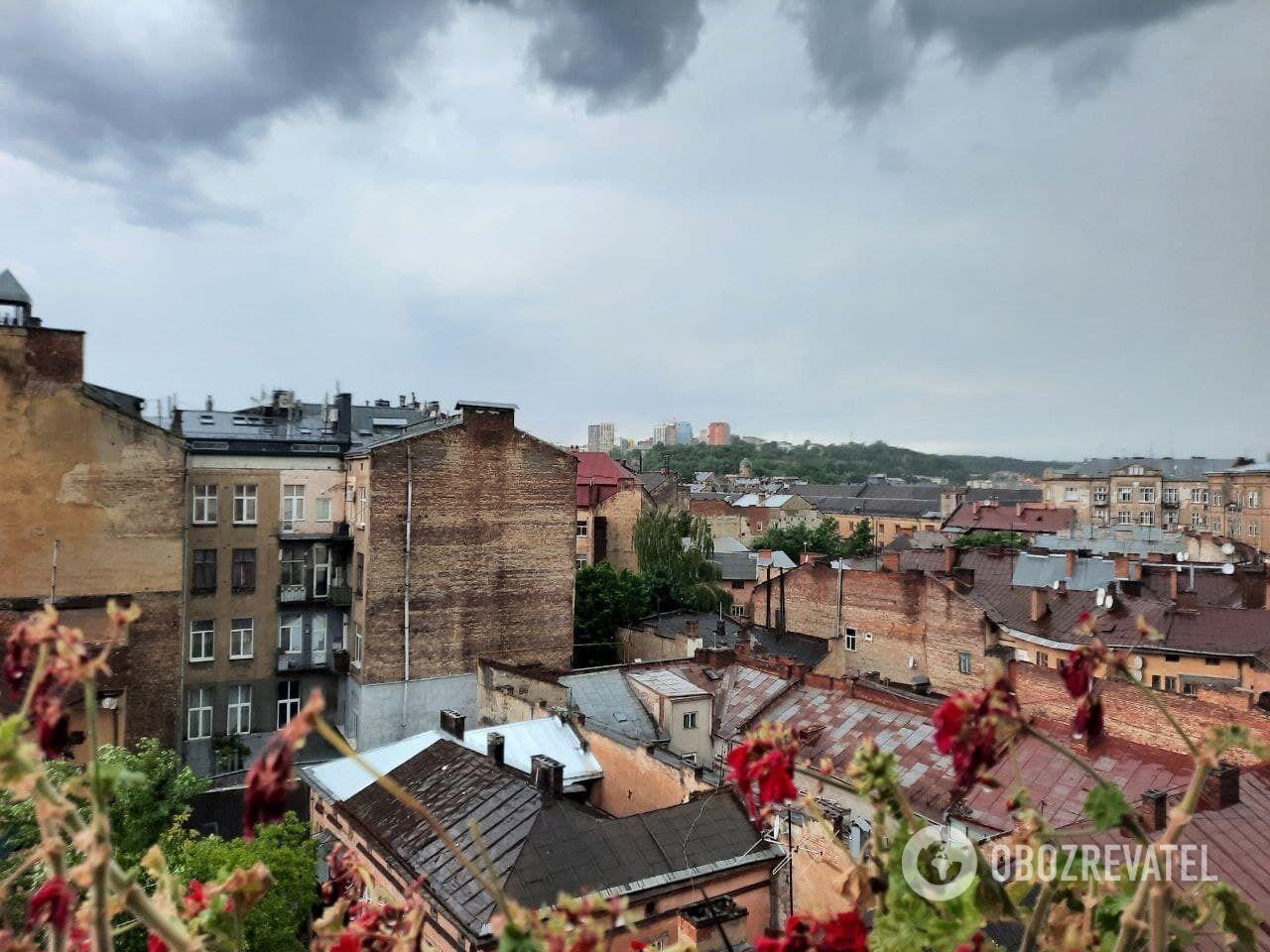 Последствия потопа во Львове.