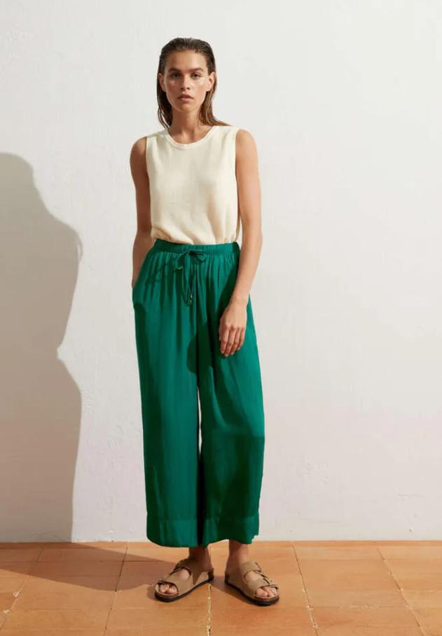 Модные пляжные брюки