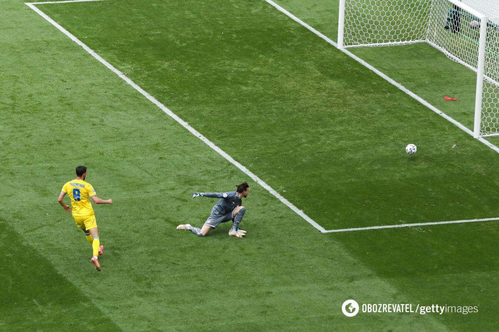 Яремчук забив македонцям переможний гол.