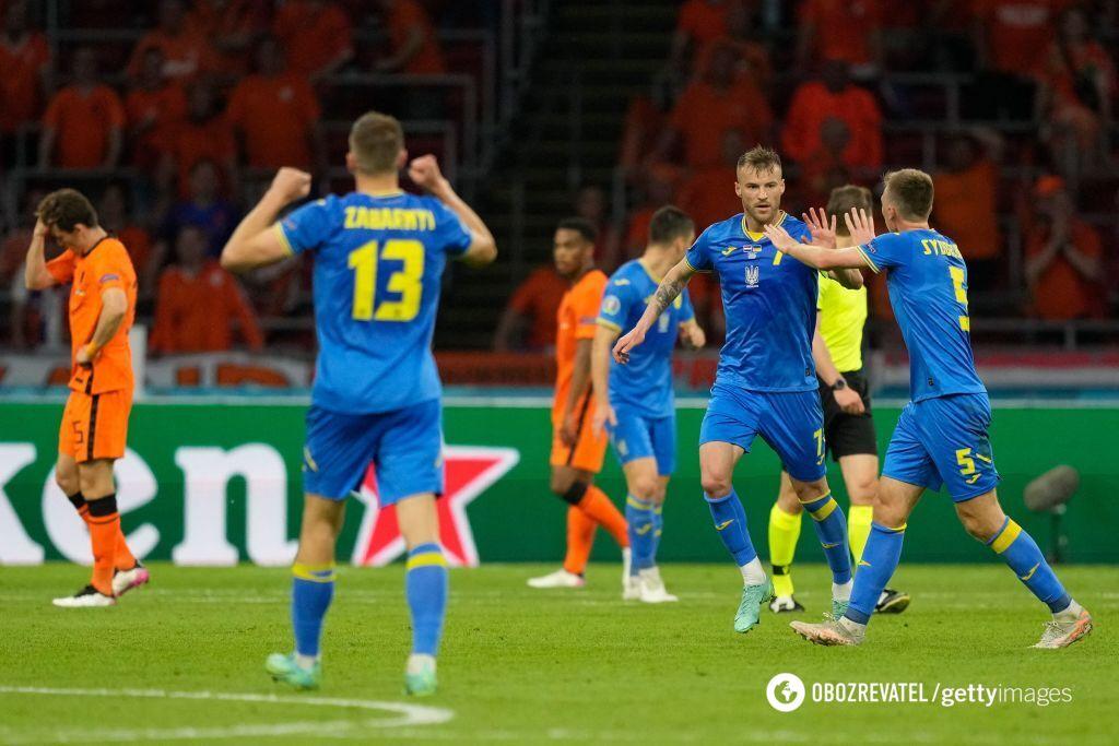 Ярмоленко забив у ворота Нідерландів.