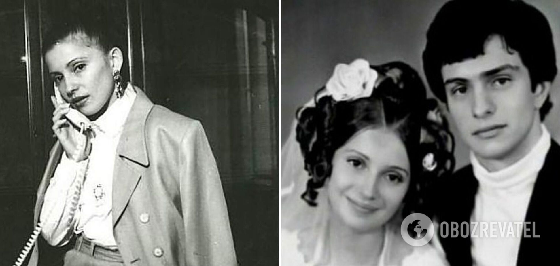 Юлия Тимошенко в юные годы