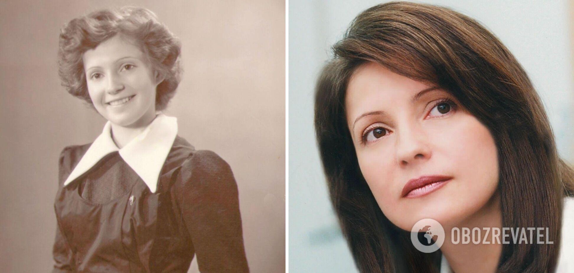 Как раньше выглядела Юлия Тимошенко