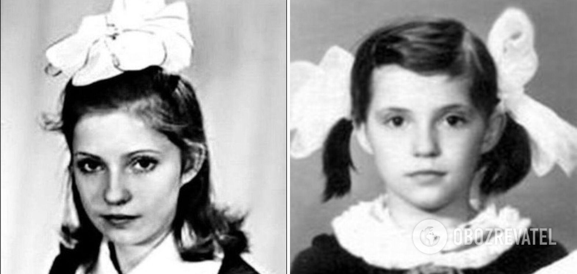 Как Юлия Тимошенко выглядела в детстве
