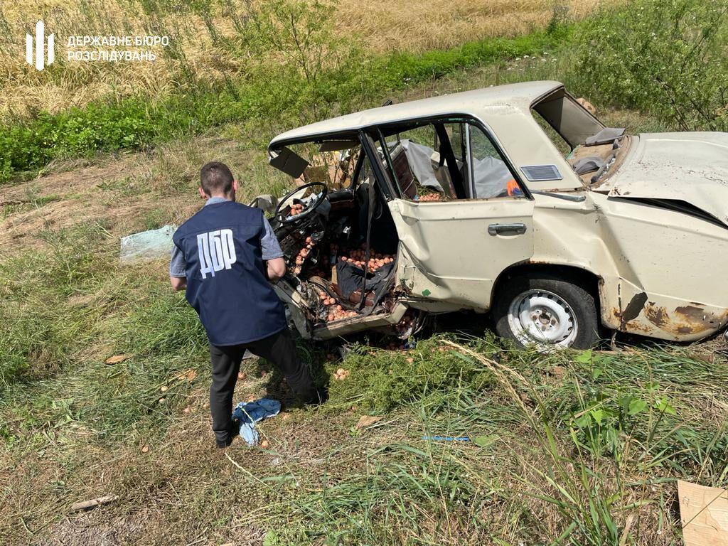 Машина пассажира, который умер в результате ДТП