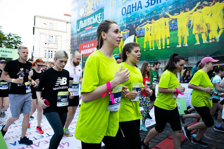 Полумарафон во Львове.