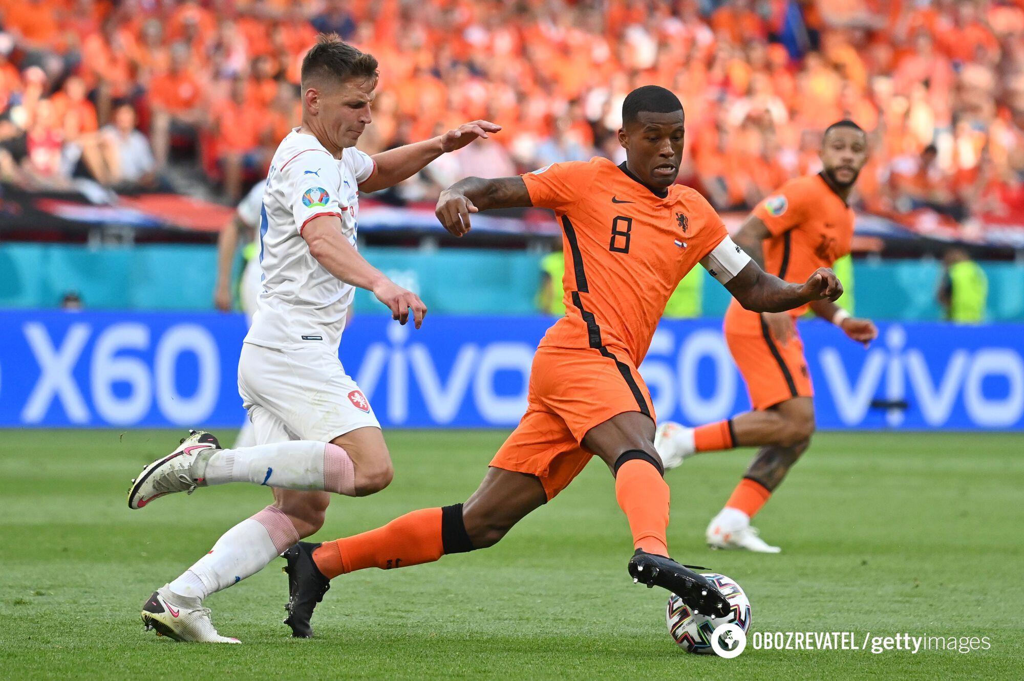 Нідерланди з перших хвилин атакували