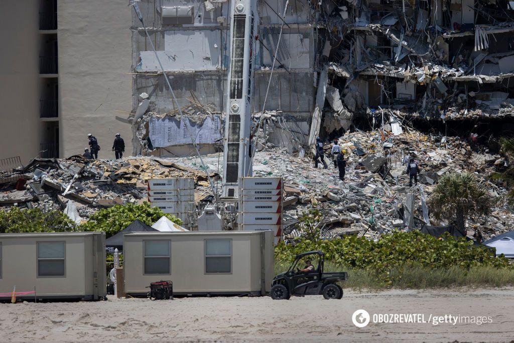 Во Флориде снесут многоэтажку, где под завалами погибли десятки людей