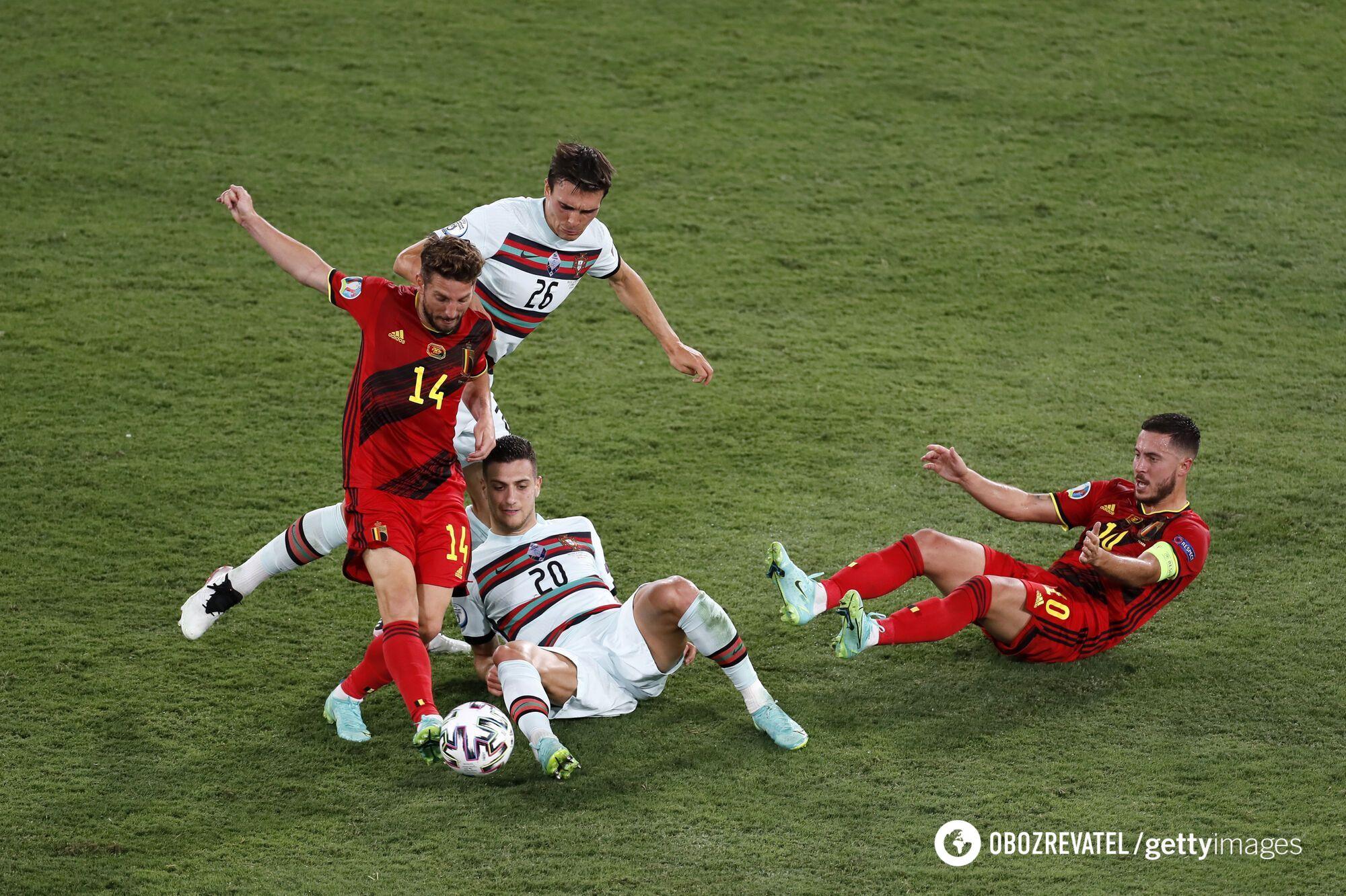 Матч проти португальців був для Бельгії непростим.