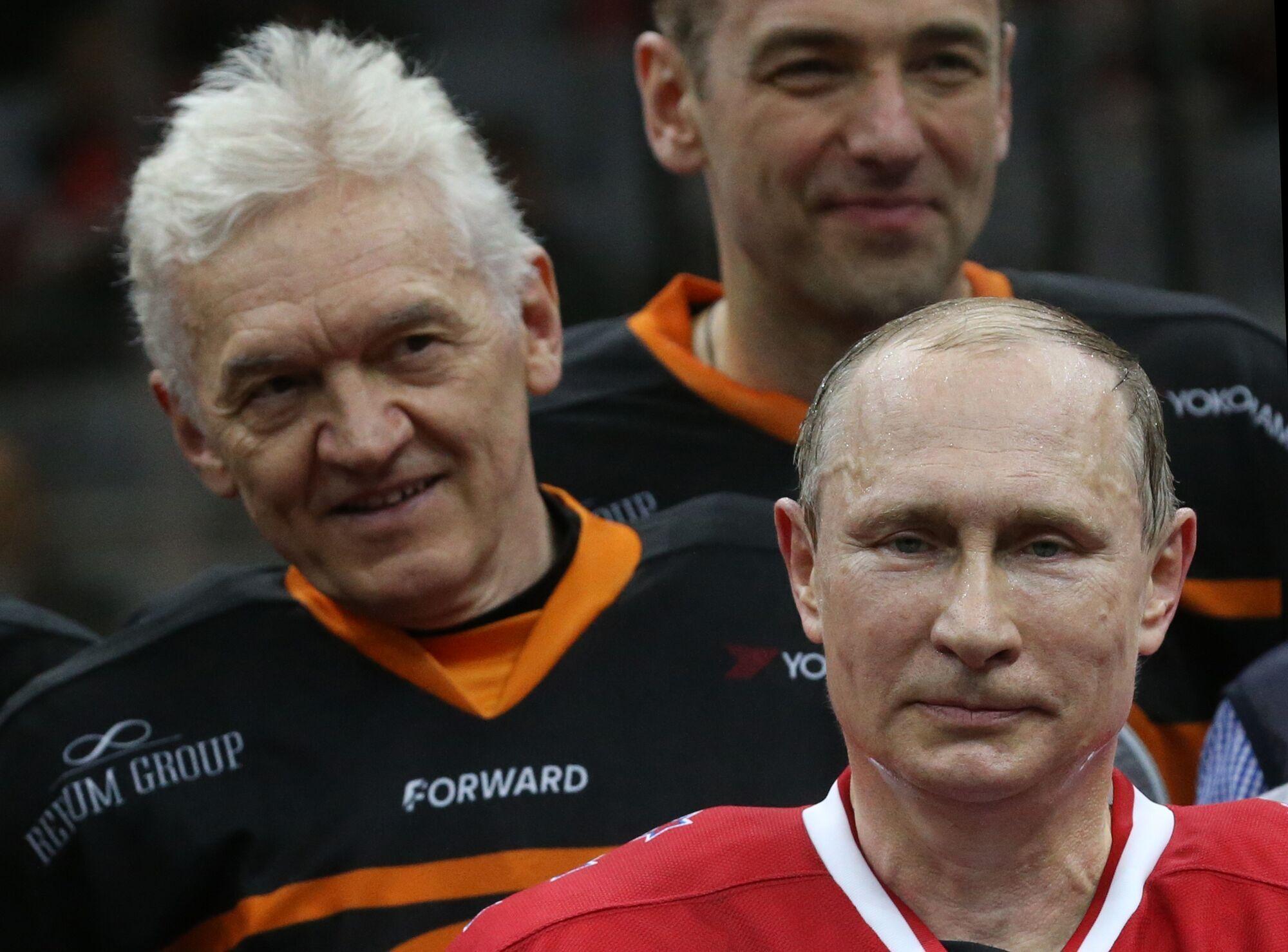 Геннадий Тимченко и Владимир Путин