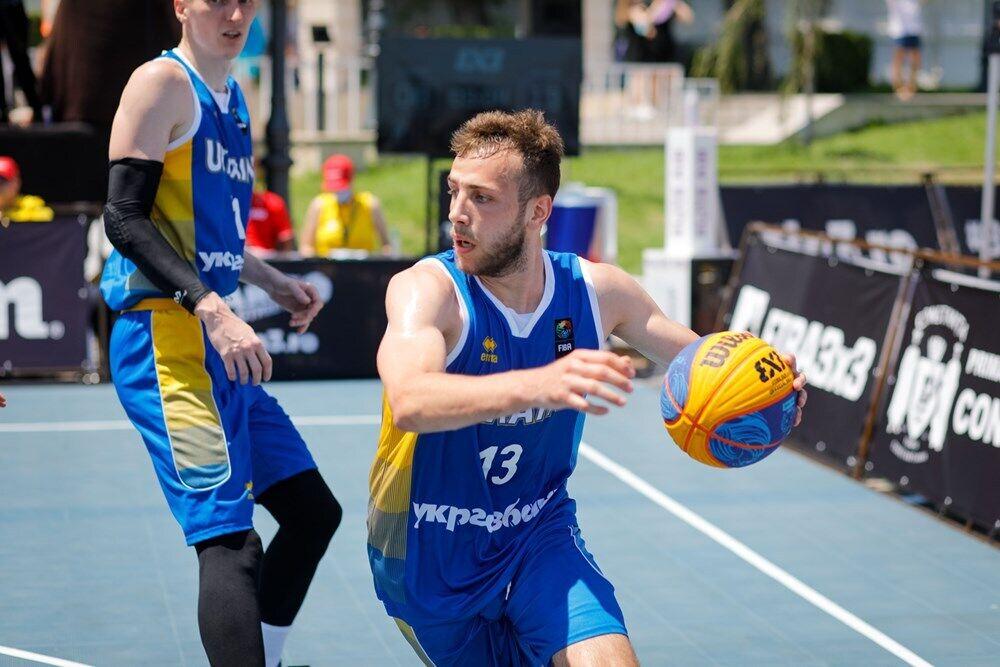 Украина выиграла квалификацию и вышла на Евробаскет 3х3