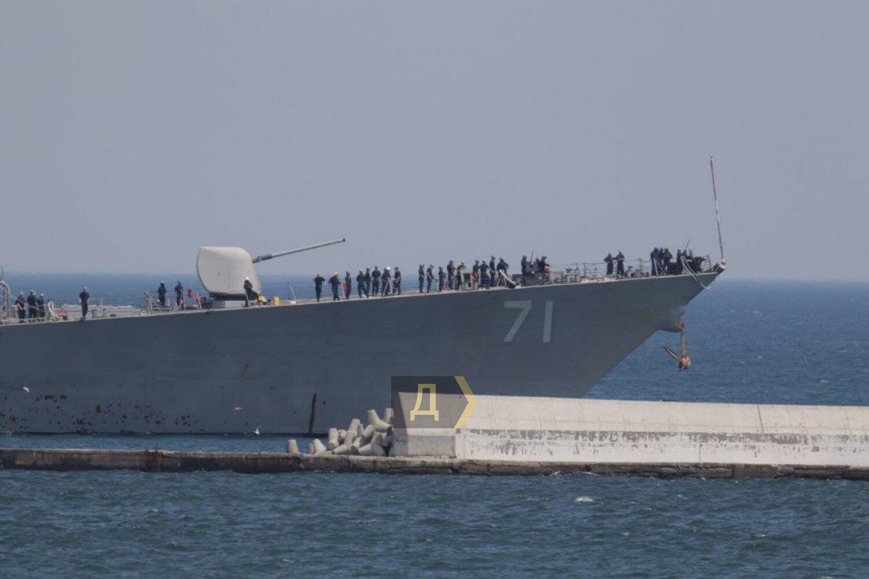 Эсминец примет участие в учениях Sea Breeze-2021.