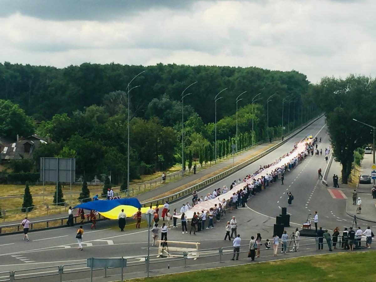 200-метровый рушник в Чернигове
