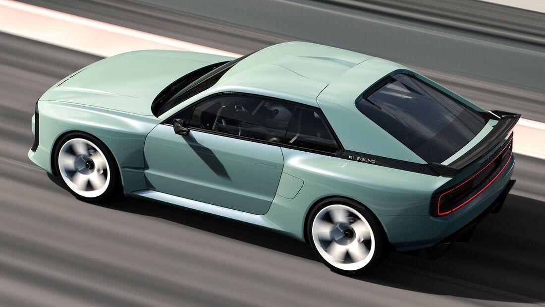 Електричний спорткар E-Legend EL1 буде виготовлений вручну тиражем 30 примірників