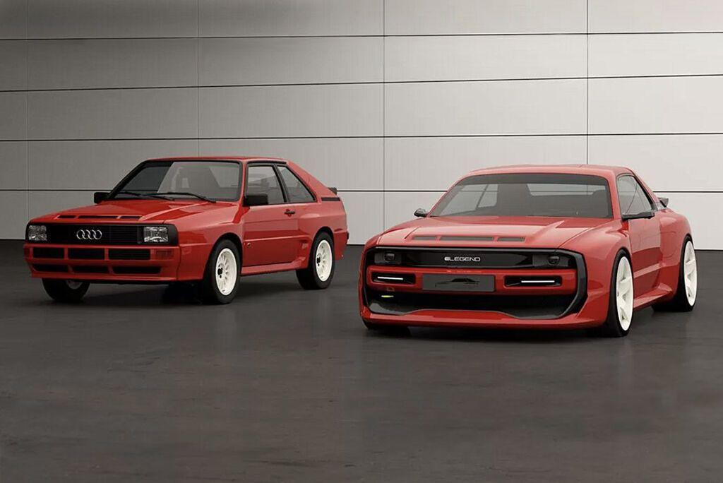 Електричний спорткар E-Legend EL1 створений за мотивами легендарного Audi Sport Quattro S1