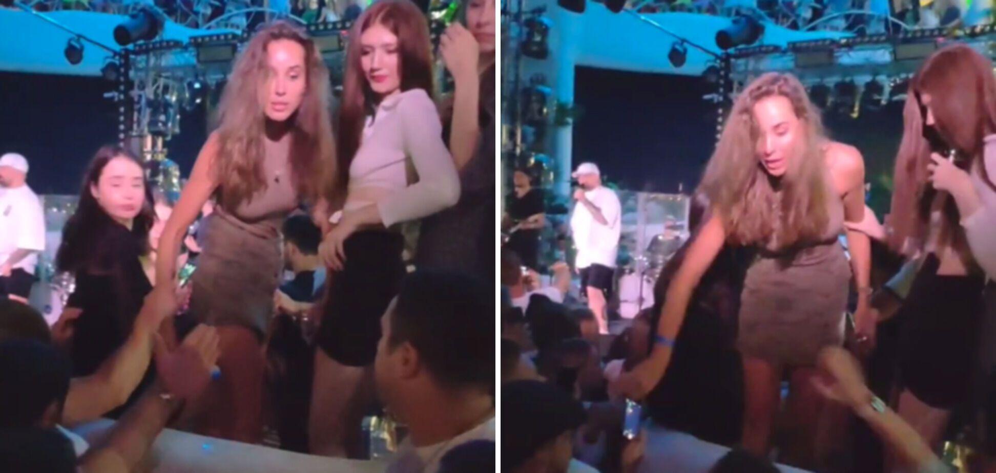 Девушки, которые подрались на концерте Басты в Одессе
