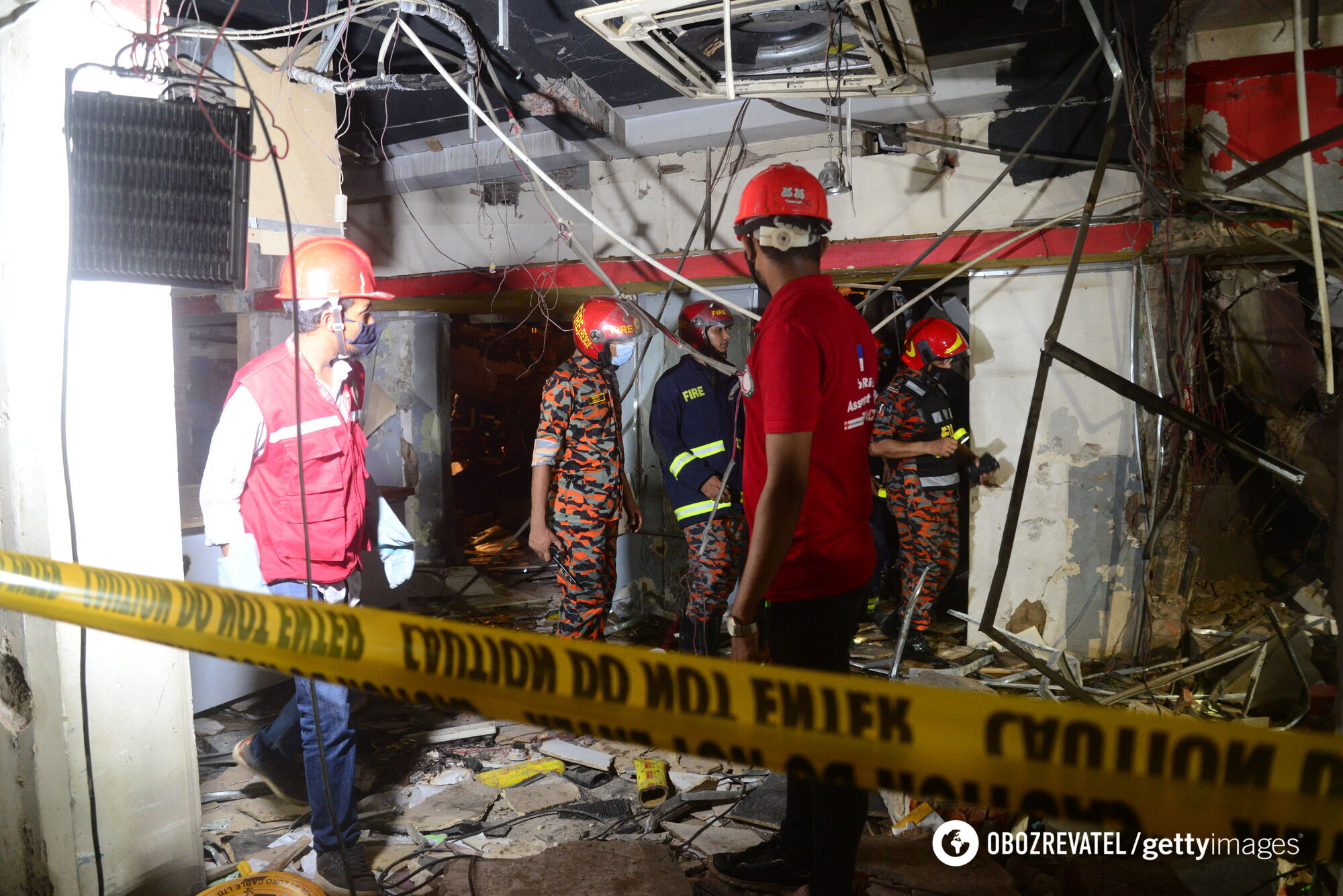 Взрыв в столице Бангладеш
