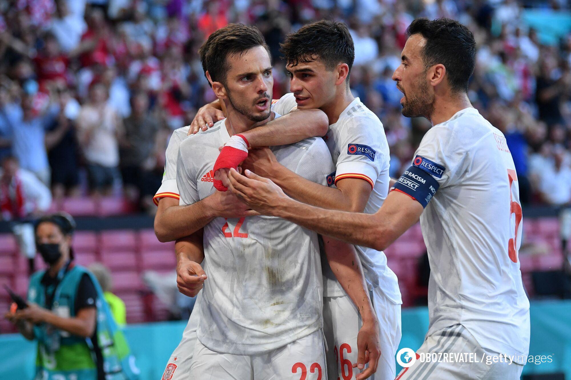 Испания остановилась в полуфинале Евро-2020.