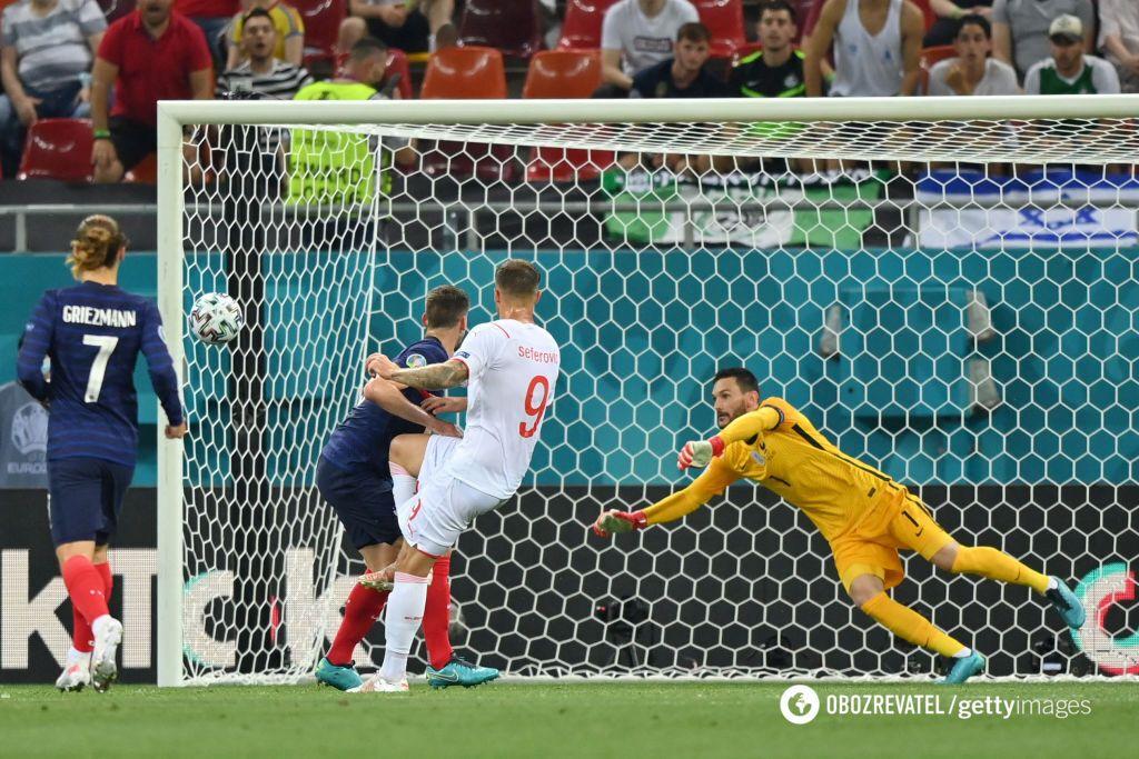 Сеферович головою забив Франції.