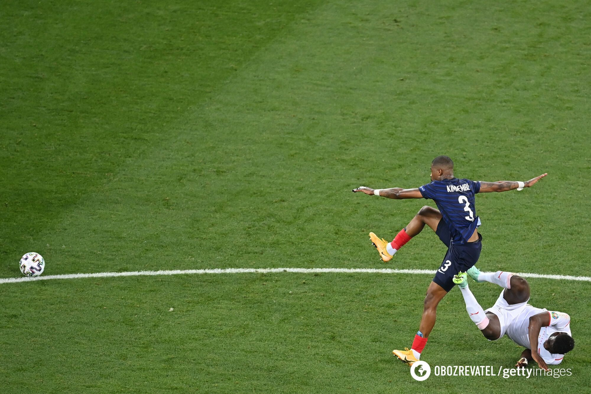 Французи провели слабкий перший тайм.