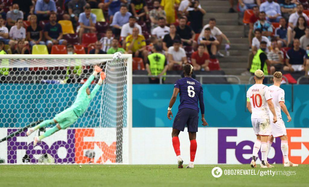 Швейцарія виграла серію пенальті у Франції