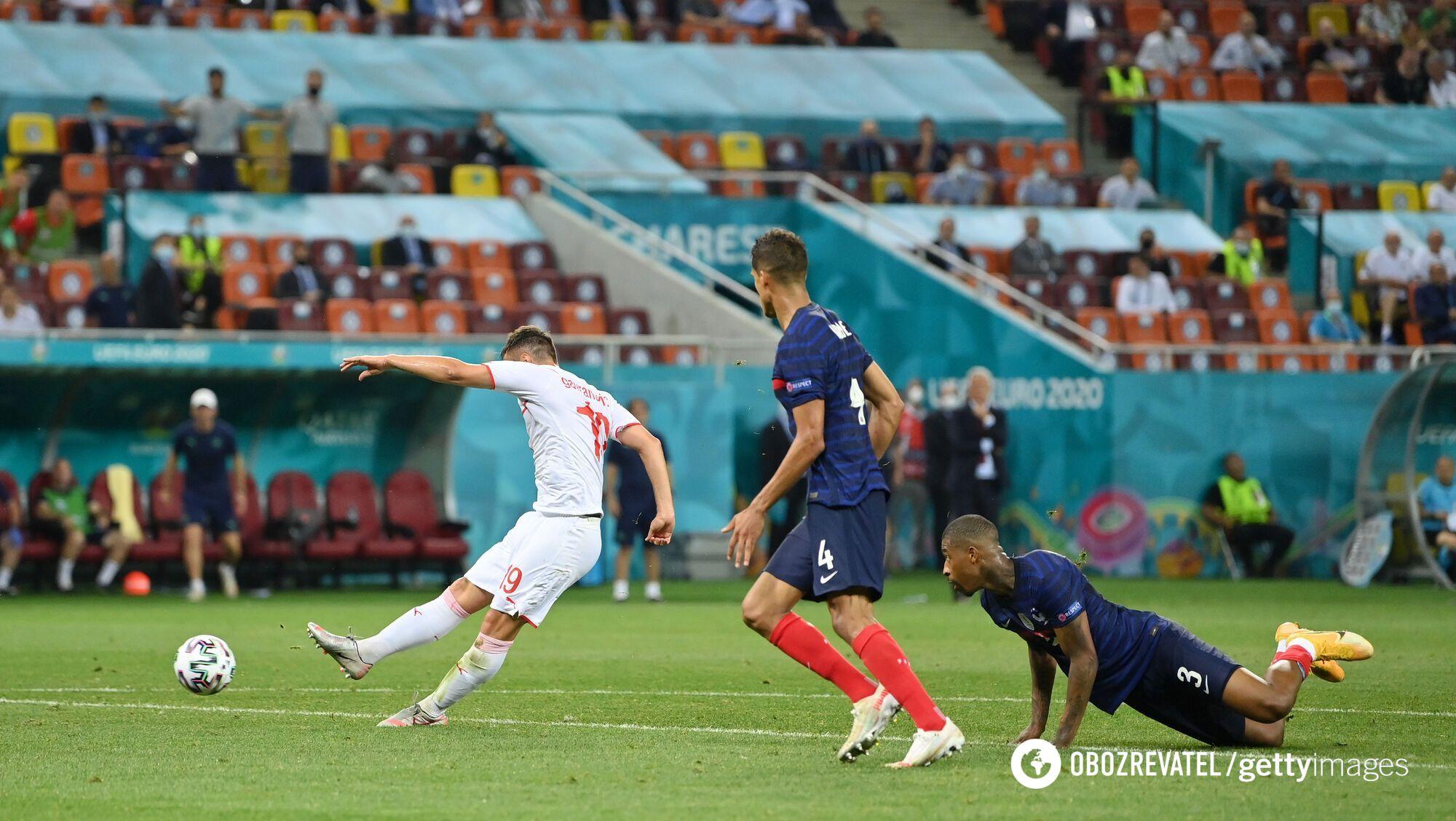Гавранович забив третій м'яч Швейцарії.
