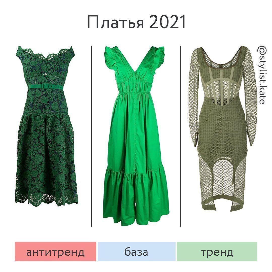 Стильные платья 2021 года
