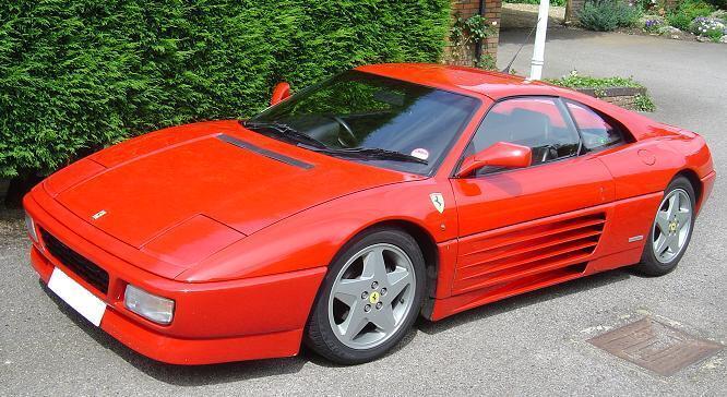 Ferrari 348 TB имела очень плохую управляемость