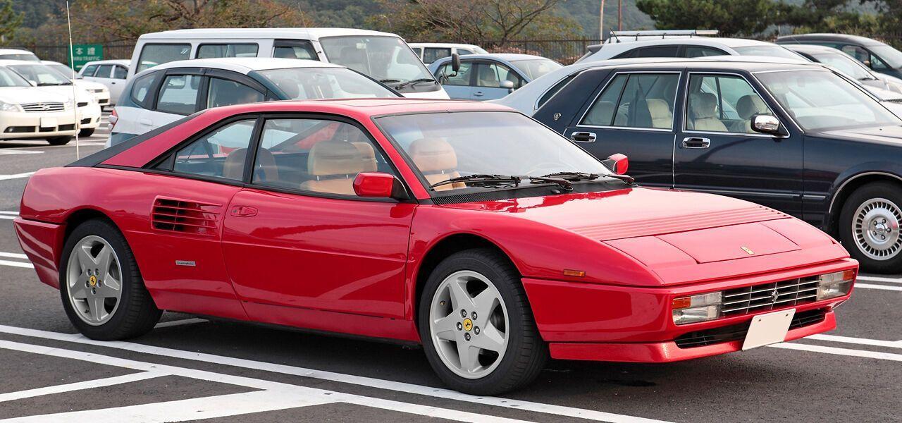 Ferrari Mondial была очень медленная
