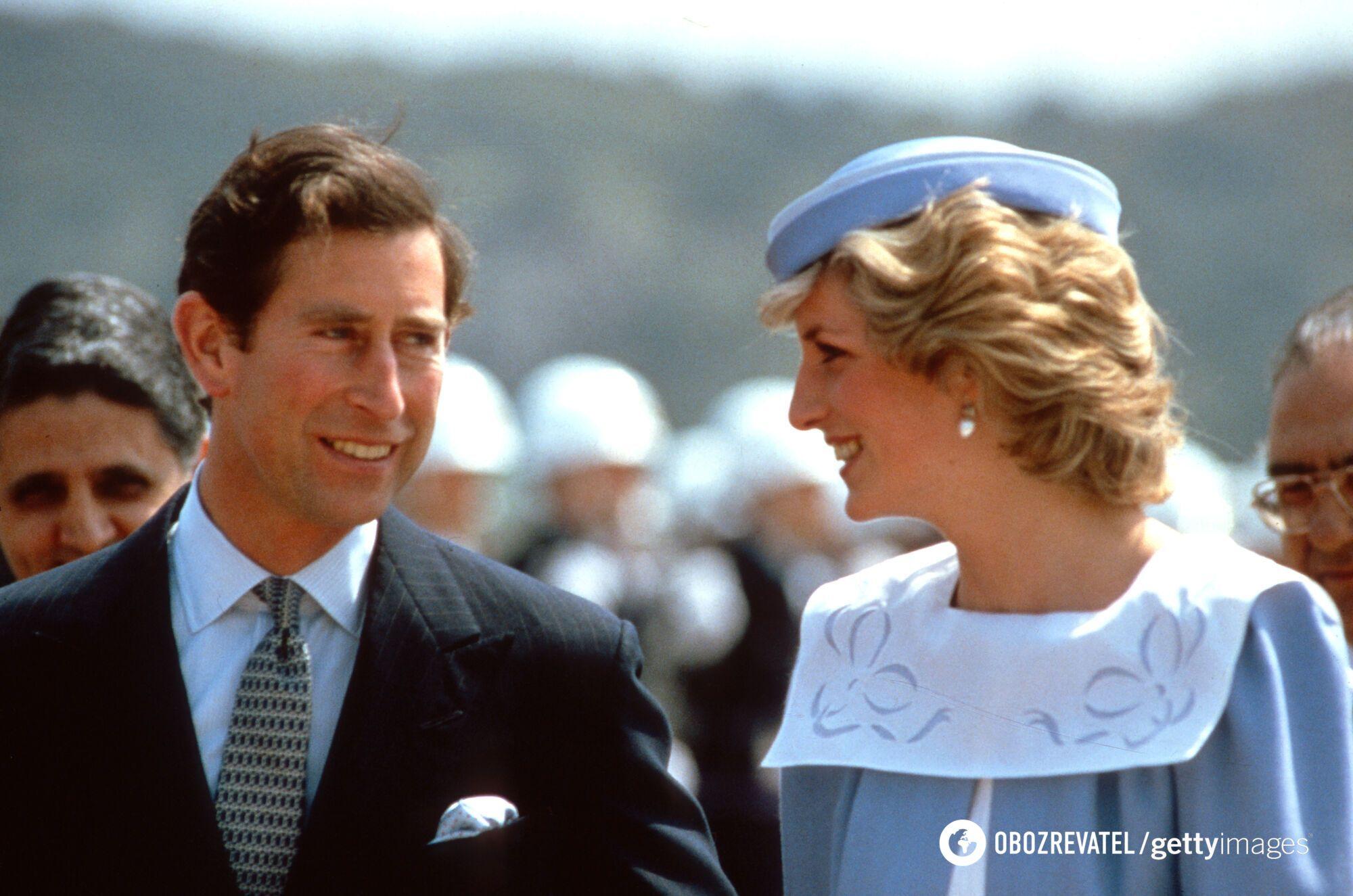 Принц Чарльз і принцеса Діана