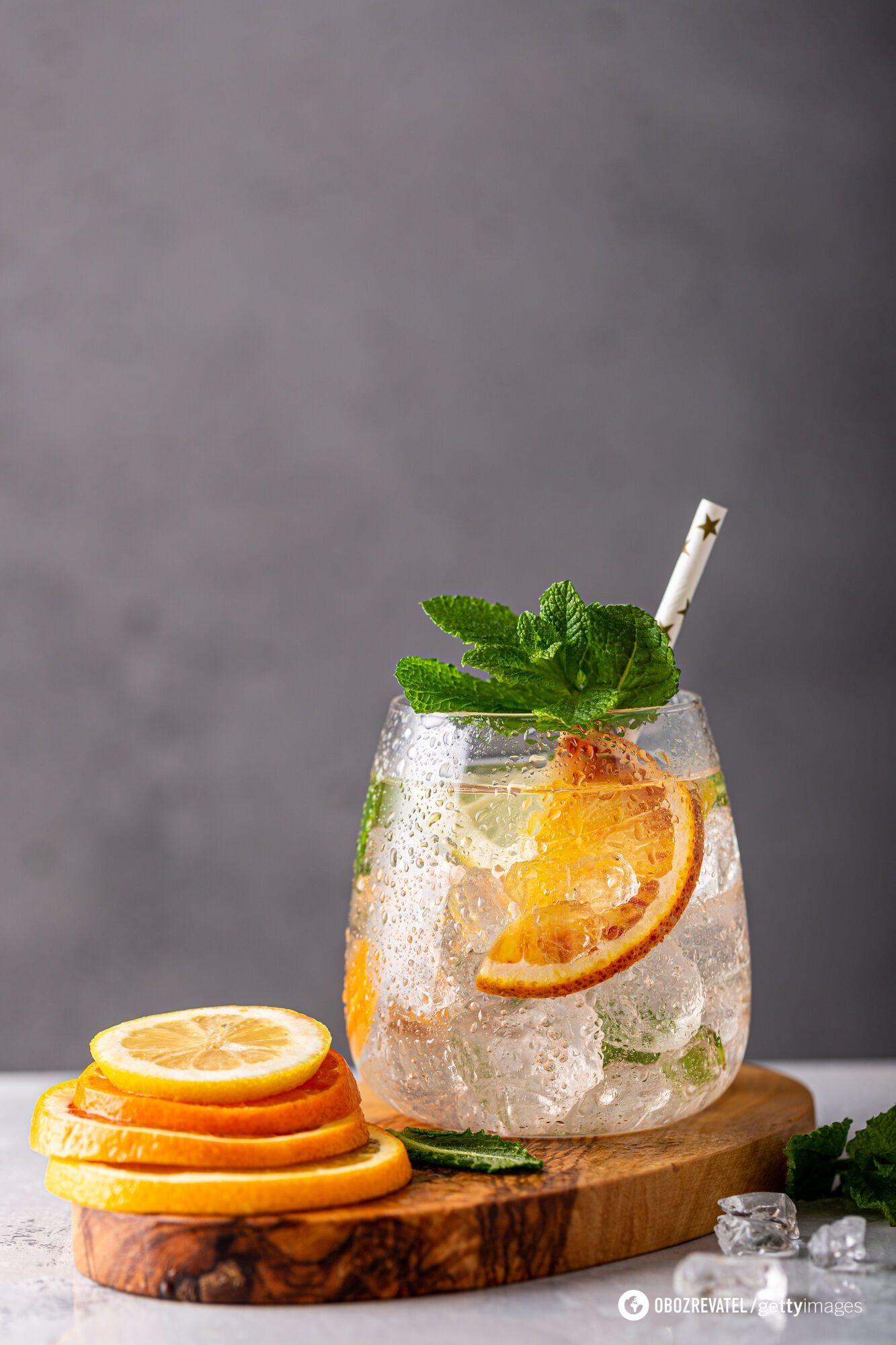 Лимонад з апельсина
