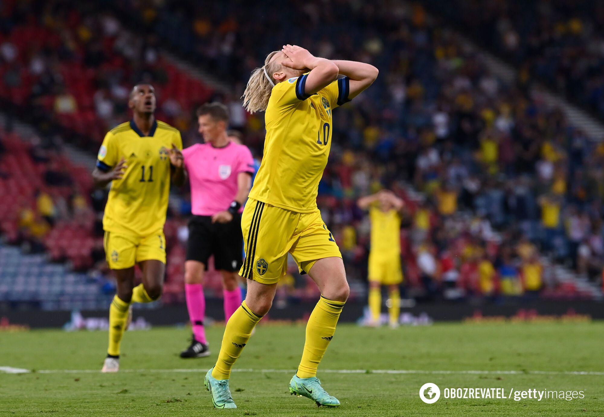Шведи дуже засмучені поразкою від України.
